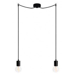 Bulb Attack CERO S2 pendant lamp with black metal bulb holder