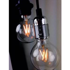 Globe LED Decorative Loft Light Bulb E27 4W A+ Dimmable in lamp holder
