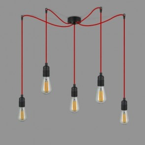CHOOSE ALL COLOURS! Bulb Attack S5 Spider Pendant Lamps - Cero Basic Uno Plus