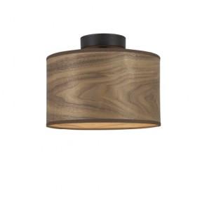 Wooden ceiling lamp Sotto Luce TSURI CP S - walnut