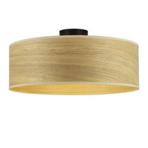 Sotto Luce TSURI CP wooden ceiling lamp S-XL