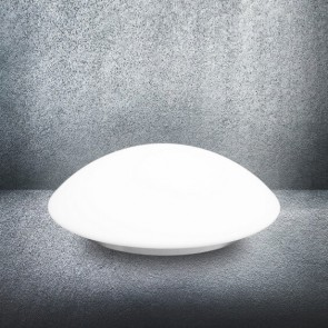 Sotto Luce Mato L ceiling or wall lamp with glass opal matte shade on