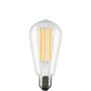 Squirrel Cage Filament Bulb - LED Dimmable Light E27 6,5W A+