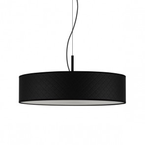 Bulb Attack Trece Slim 1/S modern pendant lamp with black shade