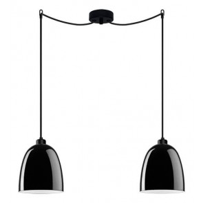 Sotto Luce Awa 2/S Elementary opal ceiling lamp