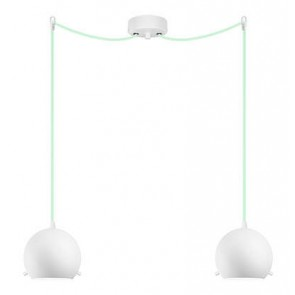 Sotto Luce MYOO Elementary 2/S ceiling light with opal matte lamp shade