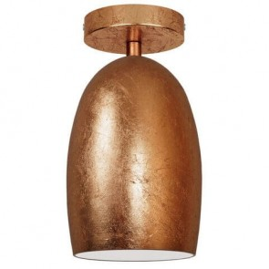 Copper ceiling lamp Sotto Luce Ume Elementary CP 1/C
