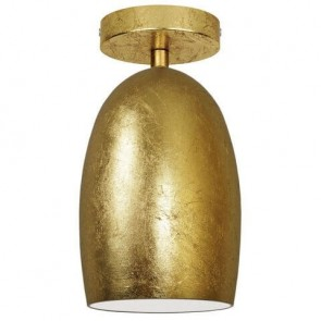 Gold ceiling lamp Sotto Luce Ume Elementary CP 1/C