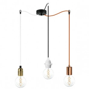 Triple Spider Pendant Lamps Bulb Attack S3 - Cero, Uno, Basic, Plus - many options to choose