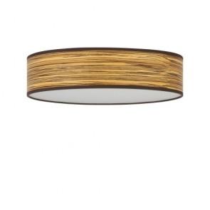 Naturalny drewniany plafon Bulb Attack OCHO 1/C