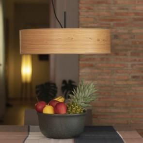 Drewniana lampa wisząca Bulb Attack OCHO Slim S1