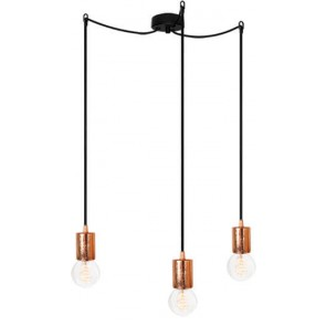 Bulb Attack CERO S3 pendant lamp with black metal bulb holder