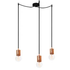 Bulb Attack CERO S3 pendant lamp with black metal bulb holder