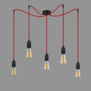 SKONFIGURUJ SWOJĄ LAMPĘ! Lampa wisząca Pająk Bulb Attack S5 - Cero Basic Uno Plus - wszystkie możliwości kolorystyczne