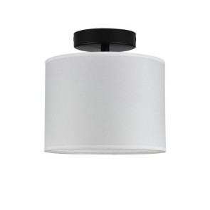 Bulb Attack Cinco Basic C1 ceiling lamp with black metal shade and black hardware