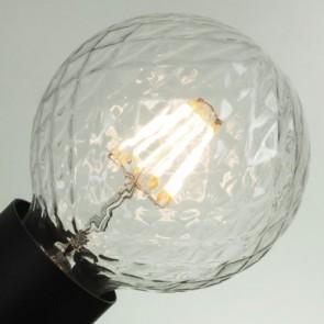 Dekoracyjna żarówka LED w stylu Retro - Globe Clear E27 5,5W A+ ściemniana