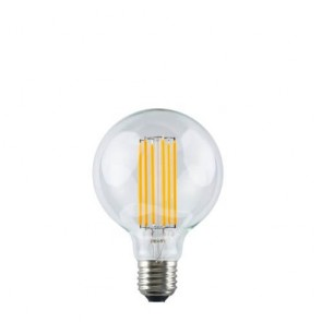 Decorative Dimmable Pop LED Filament Light Bulb E27 4W black