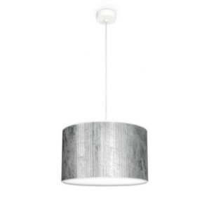 Cylindryczna lampa wisząca Bulb Attack TRES Plisado S1