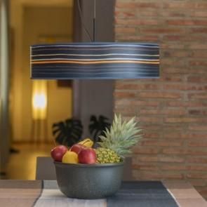 Drewniana lampa wisząca Bulb Attack OCHO Slim 1/S