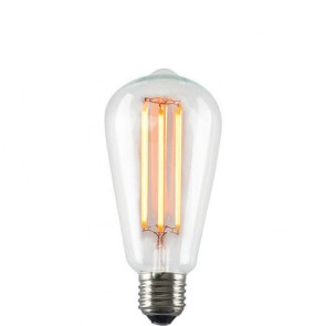 Decorative Dimmable Marine LED Filament Light Bulb E27 6,5W on