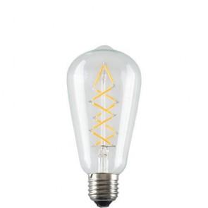 Ściemniana żarówka Edison LED - ZIG ZAG Filament 5W A+