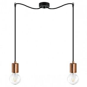 Bulb Attack CERO S5 pendant lamp with black metal bulb holder