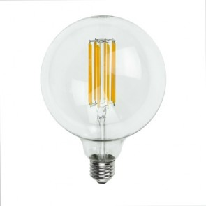 Filament Dimmable Mod LED Decorative Light Bulb E27 6,5W on