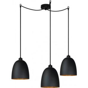 Sotto Luce Awa Elementary 3/S lampa czarny mat/złoto