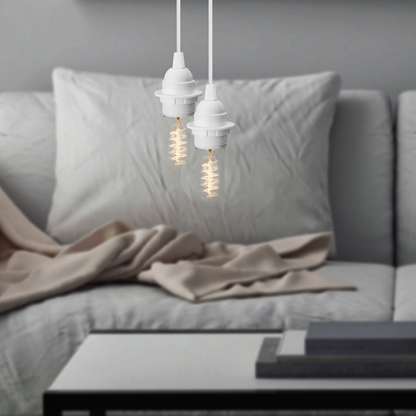 Minimalistyczna lampa wisząca w stylu retro Bulb Attack UNO Plus S2
