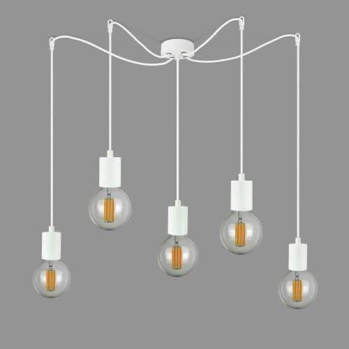 Kaskadowa lampa Bulb Attack Cero S5 cała biała