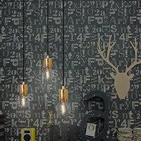 Regulowana lampa Bulb Attack Cero ze złotą oprawką na żarówkę