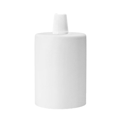 Biała oprawka na żarówkę E27 - Bulb Attack Cero