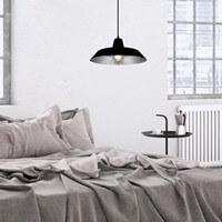 Industrialna lampa wisząca Bulb Attack Cinco czarny/srebro