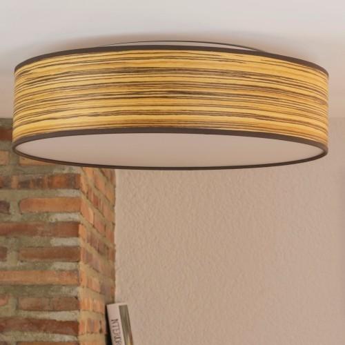 Drewniany plafon Bulb Attack Ocho 400mm - Zebrano