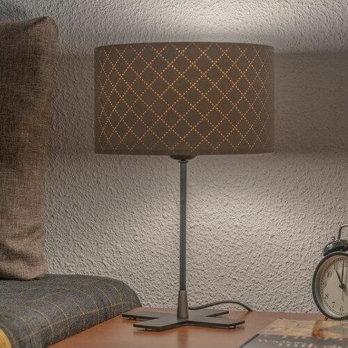 Lampka biurkowa Bulb Attack Trece 1/T w kolorze kości słoniowej