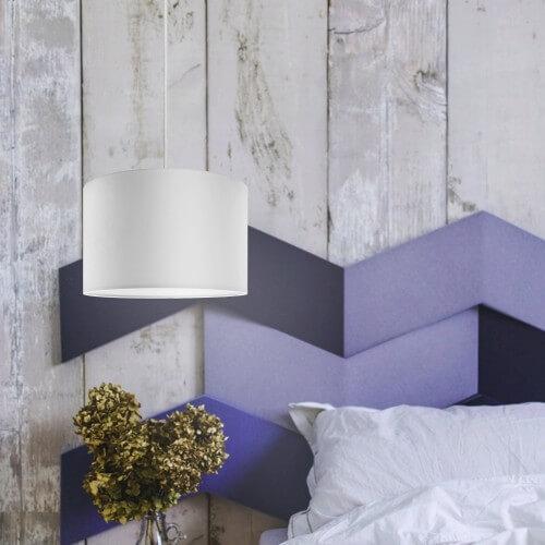 Biała lampa Bulb Attack Tres