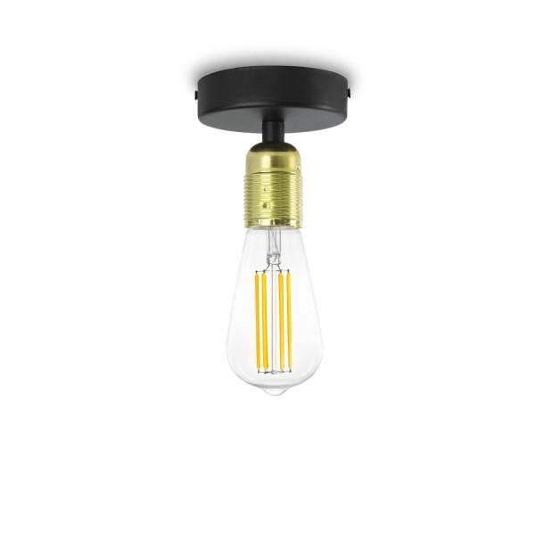Plafon Bulb Attack Uno Basic C1 metaliczne złoto i czarny
