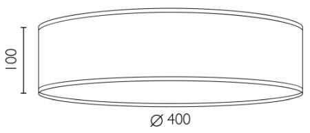 Deckenleuchte Bulb Attack Once L/C Dimensionen