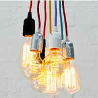 Przewód elektryczny w oplocie w wielu kolorach do wyboru
