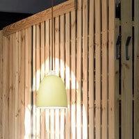 Nowoczesna lampa sufitowa Awa ecru mat/opal z kolekcji Sotto Luce Elementary