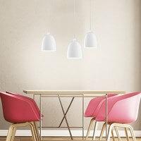 Szklana lampa wisząca Sotto Luce Awa 3/S opal połysk