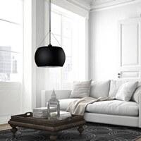 czarna lampa wisząca Sotto Luce Momo 1/S